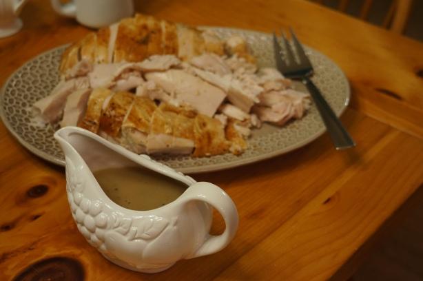 Silky Turkey Gravy